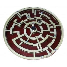 casse tête labyrinthe avec bille en bois et metal1