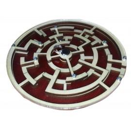 casse tête labyrinthe avec bille en bois et metal3