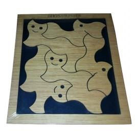 casse tête puzzle sos fantôme,puzzle en bois
