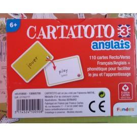 verso du jeu de carte pour apprendre l'anglais , cartata toto anglais3