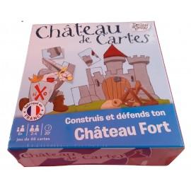 jeu de carte château de carte photo de présentation jeu medievale