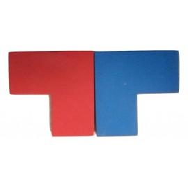 Positionnement 2 pièces interdites dans le jeu Imbrix