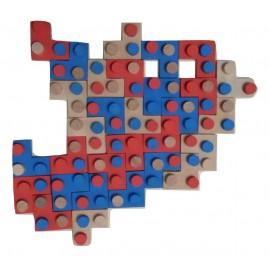 Assemblage complet de toute les pièces du jeu IMBRIX