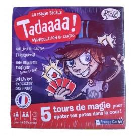 jeu carte kit la magie facile