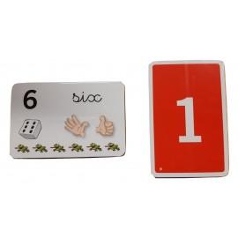Jeu de carte pour apprendre les chiffre et les additions