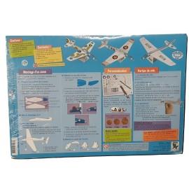 un kit de loisir créatif pour construire 3 avions