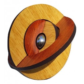 Casse tête en bois Atome