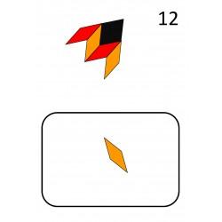 support formes géommétriques couleur