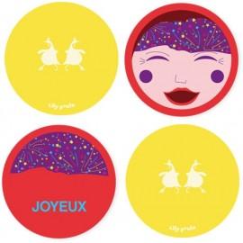 lilly poule, carte les émotions, fabricant français carte