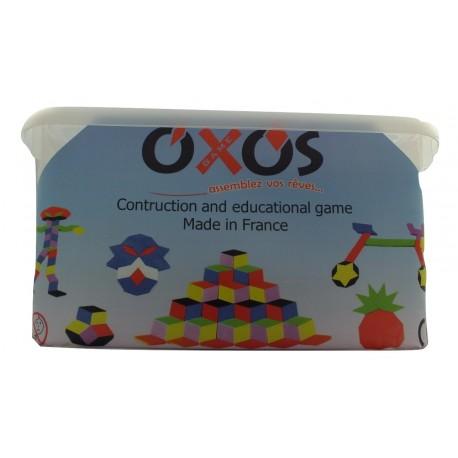 Photo boite de jeu Oxos Game Jumbo Box 440 pièces,  deux formes et 11 couleurs