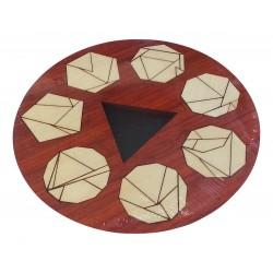 CASSE TÊTE: Puzzle formes géométriques