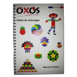 Cahier de modèles contenu dans la boite Jumbo Box box, 80 modèles ludiques et éducatifs