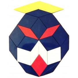 Exemple de création réalisée avec le jeu Oxos Game boite team box