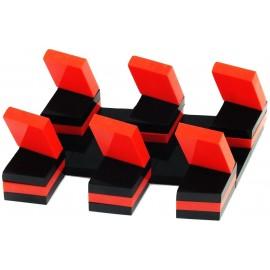 Exemple de motif avec empilement de pièces Oxos Game.