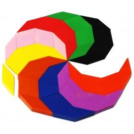 support rosace multicolore complète pour joueurs DYS