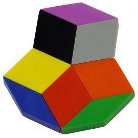Exemple modèle réalisation pièces rubix cube