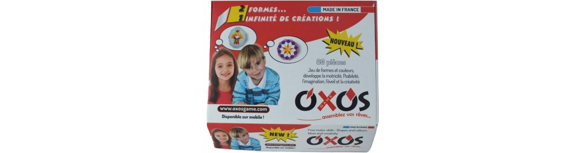 Oxos Game: Jeu de construction éducatif